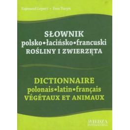 Słownik polsko-łacińsko-francuski Rośliny i zwierzęta