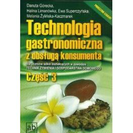 Technologia gastronomiczna z obsługą konsumenta  Cz.3
