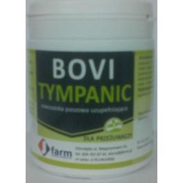 Bovi-Tympanic 150g Suplement diety dla przeżuwaczy Preparat o działaniu przeciwwzdęciowym regulujący pracę przewodu pokarmowego u przeżuwaczy