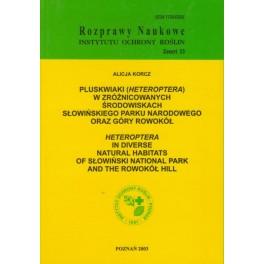 Pluskwiaki ( Heteroptera ) w zróżnicowanych środowiskach Słowińskiego Parku Narodowego oraz Góry Rowokół