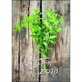 Kalendarz z księdzem Twardowskim 2018 Mięta