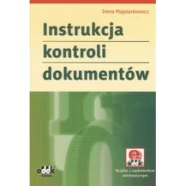 Instrukcja kontroli dokumentów (z suplementem elektronicznym)