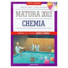 Chemia Matura 2012 Testy i arkusze z płytą CD