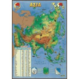 Azja Plansza dydaktyczna