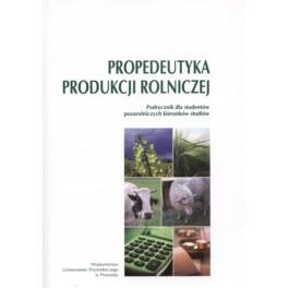 Propedeutyka produkcji rolniczej