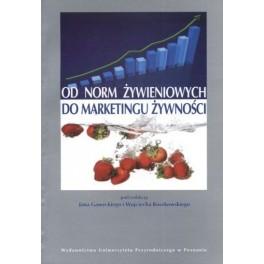 Od norm żywieniowych do marketingu żywności