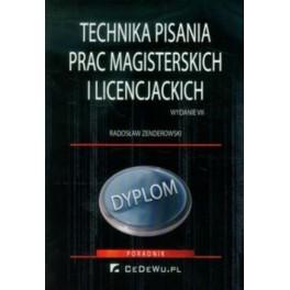 Technika pisania prac magisterskich i licencjackich