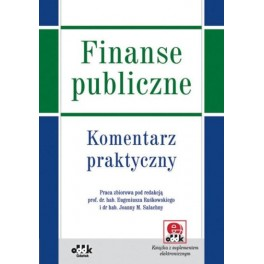 Finanse publiczne  Komentarz praktyczny