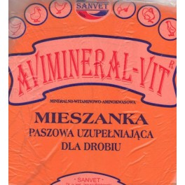Avimineral - Vit 2kg Mieszkanka paszowa uzupełniająca dla drobiu