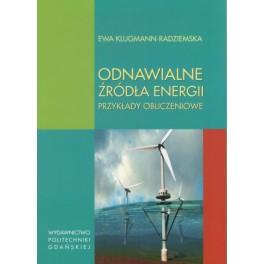 Odnawialne źródła energii Przykłady obliczeniowe
