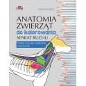 Anatomia zwierząt do kolorowania. Aparat ruchu. Podręcznik dla studentów weterynarii