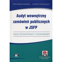 Audyt wewnętrzny zamówień publicznych w JSFP wzory list kontrolnych z komentarzem