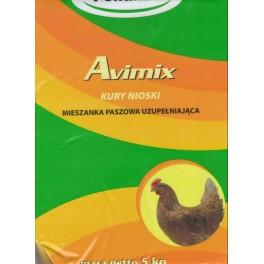 Polfamix Avimix 5kg Mieszanka paszowa uzupełniająca dla kur niosek