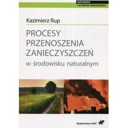 Procesy przenoszenia zanieczyszczeń w środowisku naturalnym