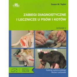 Zabiegi diagnostyczne i lecznicze u psów i kotów + Materiały online