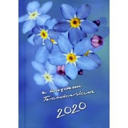 Kalendarz z księdzem Twardowskim 2020 Kwiatek