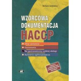 Wzorcowa dokumentacja HACCP Bar gastrononomiczny szybkiej obsługi