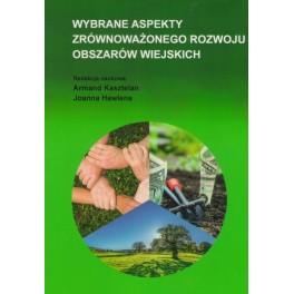 Wybrane aspekty zrównoważonego rozwoju obszarów wiejskich