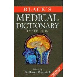 Black's Medical Dictionary Słownik medyczny