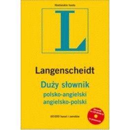 Duży słownik polsko-angielski, angielsko-polski +CD