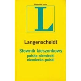 Słownik kieszonkowy polsko-niemiecki, niemiecko-polski