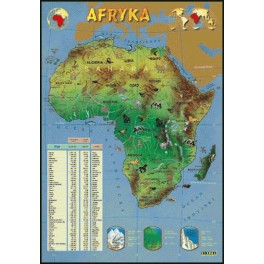 Afryka Plansza dydaktyczna