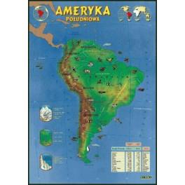 Ameryka Południowa Plansza dydaktyczna