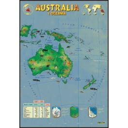 Australia Plansza dydaktyczna