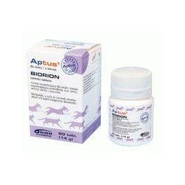 Aptus Biorion 60 tabletek Skóra,sierść,pazury Preparat zawierający metioninę i biotynę do wspomagania prawidłowego stanu skóry, wzrostu sierści i pazurów