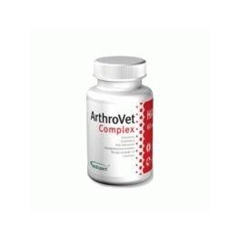 ArthroVet HA Complex 60 tabletek Profilaktyka i terapia u psów i kotów z zaburzeniami funkcji chrząstek  stawowych i stawów.