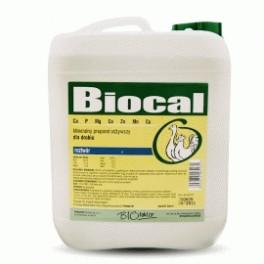 Biofaktor Biocal 5l Mineralny preparat odżywczy dla drobiu