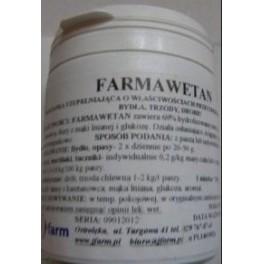 Farmawetan 100g Preparat o właściwościach przeciwbiegunkowych dla bydła, trzody i drobiu
