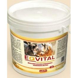Eqvital 1kg tabletki Mieszanka paszowa uzupełniająca witaminowo-mineralna dla koni