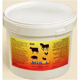 MIK-1 3kg Mieszanka paszowa uzupełniająca witaminowo-aminokwasowo-mineralna dla zwierząt