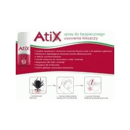 ATIX - spray do bezpiecznego usuwania kleszczy