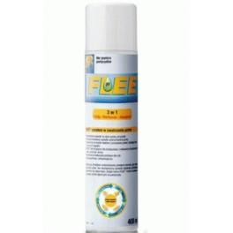 Flee 400ml  Preparat do zwalczania pcheł, roztoczy i alergenów w otoczeniu człowieka i zwierząt Spray 3 w 1