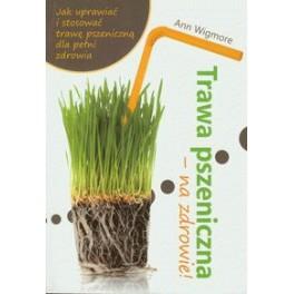 Trawa pszeniczna na zdrowie