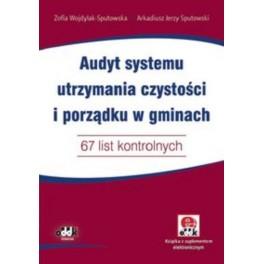 Audyt systemu utrzymania czystości i porządku w gminach 65 list kontrolnych Książka z suplementem elektronicznym