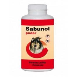 Sabunol puder przeciw pchłom i kleszczom dla psa