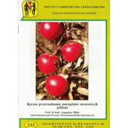 Ręczne przerzedzanie zawiązków owocowych jabłoni
