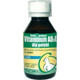 Vitaminum AD3E protect dla gołębi 100 ml