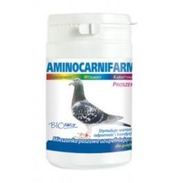 Biofaktor Aminocarnifarm dla gołębi 200g Preparat odżywczy stymulujący wzrost, odporność i kondycję