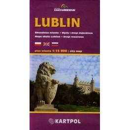 Lublin Plan miasta